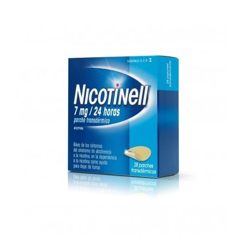 NICOTINELL 7 MG/24HORAS 14 PARCHES