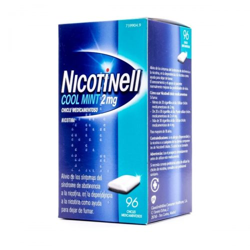 NICOTINELL MINT 2 MG 96 CHICLES