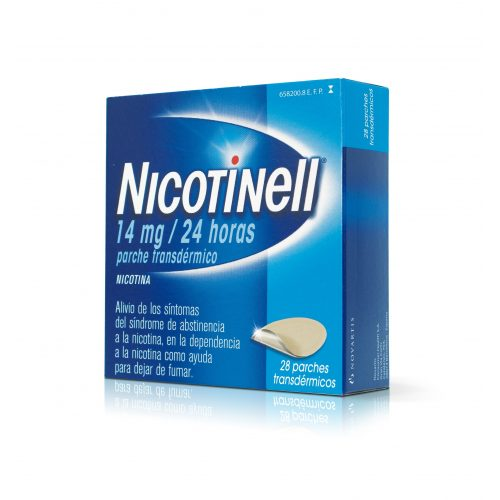 NICOTINELL 14 MG/24 H 14 PARCHES